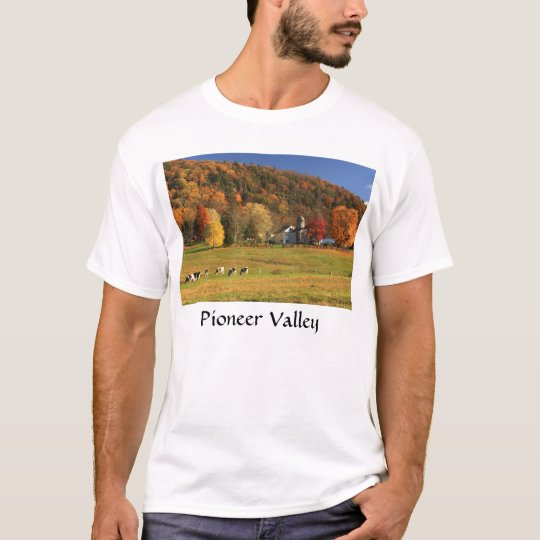 Mount Holyoke Farms in Autumn Pioneer Valley T-Shirt