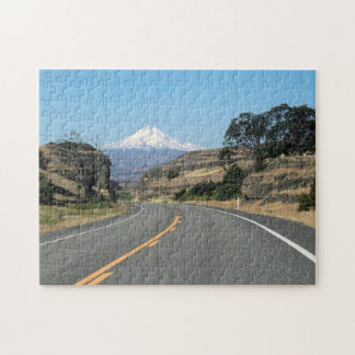 Mount Hood from State Highway 14 Puzzle