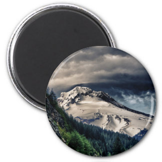 Mount Hood HDR 2 Inch Round Magnet