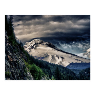 Mount Hood HDR Postcard