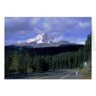 Mount Hood Highway Greeting Card