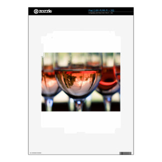 Mount Hood in a Wine Glass Skins For iPad 2