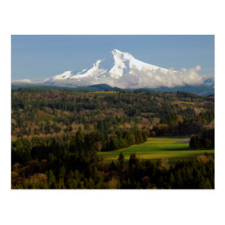 Mount Hood, Jonsrud Viewpoint, Sandy, Oregon Postcard