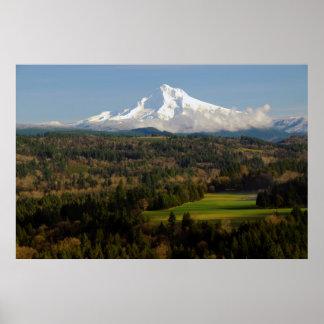 Mount Hood, Jonsrud Viewpoint, Sandy, Oregon Poster