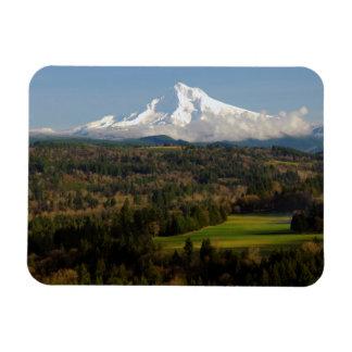 Mount Hood, Jonsrud Viewpoint, Sandy, Oregon Rectangular Photo Magnet