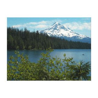 Mount Hood Landscape Photo Canvas Print