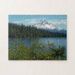 """Mount Hood Landscape Photo Jigsaw Puzzle<br><div class=""""desc"""">A challenging jigsaw puzzle that features a scenic photo image of Mount Hood,  Oregon. Select your puzzle size. Fun for the whole family! NOTE: Image optimized for puzzles up to 16 x 20 inches only. To see other products we have to offer,  click on the Northwestphotos store link.</div>"""