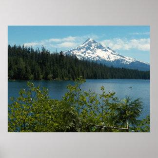 Mount Hood Landscape Photo Poster