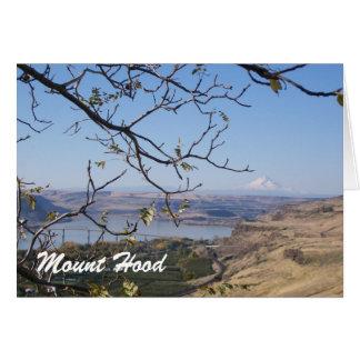 Mount Hood Note Card