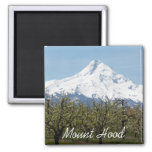 Mount Hood Orchards Photo 2 Inch Square Magnet