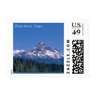 Mount Hood Oregon Landscape Postage Stamp