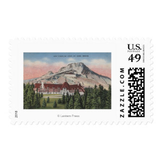Mount Hood, Oregon - View of the New Timberline Postage