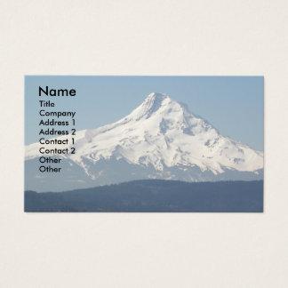Mount Hood Photo Business Card