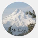 Mount Hood Photo Classic Round Sticker