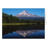 Mount Hood Reflected in Lake Stationery Note Card
