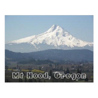 Mount Hood Valley Travel Photo Postcard