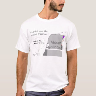 Mount Ignorance Mens Shirt