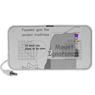 Mount Ignorance Laptop Speakers