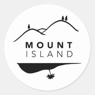 Mount Island Stickers