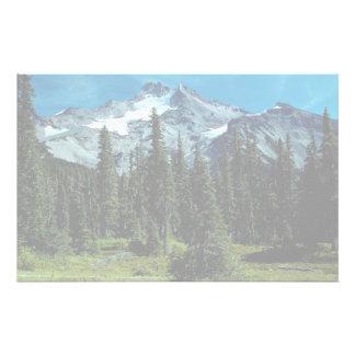 Mount Jefferson, Oregon, USA Custom Stationery