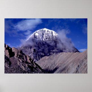 Mount Kailas, Tibet Poster
