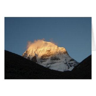 Mount Kailash • Greeting Card