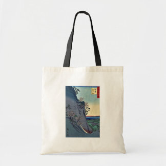 Mount Kaito in Iga Province by Utagawa Hiroshige Canvas Bags