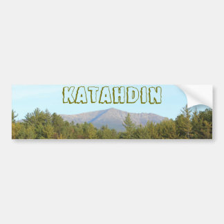 Mount Katahdin 0579 Bumper Sticker