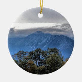 Mount Katahdin 8387a Ceramic Ornament
