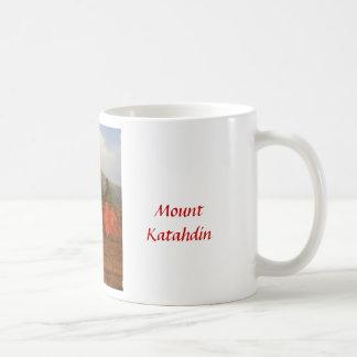 Mount Katahdin Autumn Morning Coffee Mug