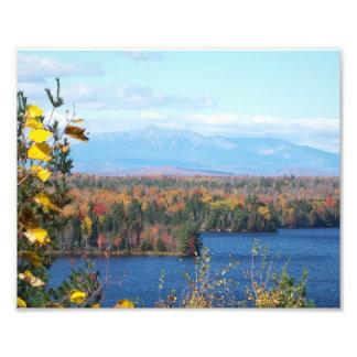 Mount Katahdin from I-95 scenic viewpoint Photo Print