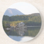 Mount Katahdin from Rainbow Lake Beverage Coaster