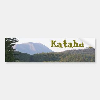 Mount Katahdin from Rainbow Lake Bumper Sticker