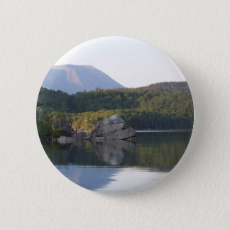 Mount Katahdin from Rainbow Lake Button