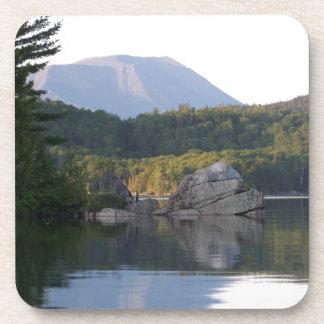 Mount Katahdin from Rainbow Lake Coaster
