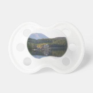 Mount Katahdin from Rainbow Lake Baby Pacifiers