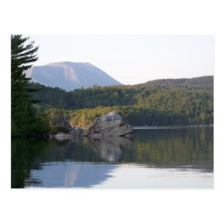 Mount Katahdin from Rainbow Lake Postcard