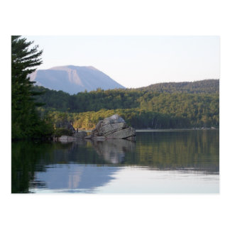 Mount Katahdin from Rainbow Lake Postcard