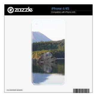 Mount Katahdin from Rainbow Lake Skin For iPhone 4