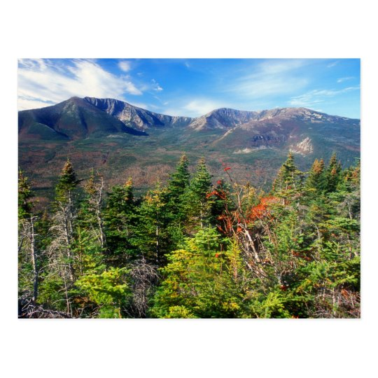 Mount Katahdin from South Turner Mountain Postcard