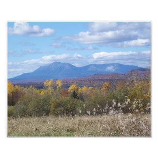 Mount Katahdin from Staceyville 3 Photo Print