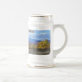 Mount Katahdin from Stacyville, Maine 1 Beer Stein