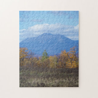 Mount Katahdin from Stacyville, Maine 2 Jigsaw Puzzle