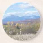 Mount Katahdin in fall 3 Beverage Coaster