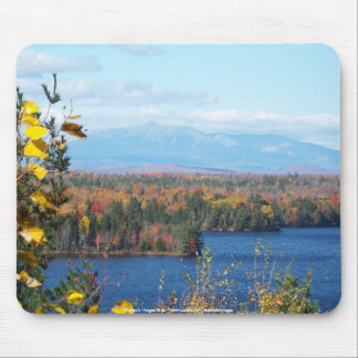 Mount Katahdin in the fall Mouse Pad