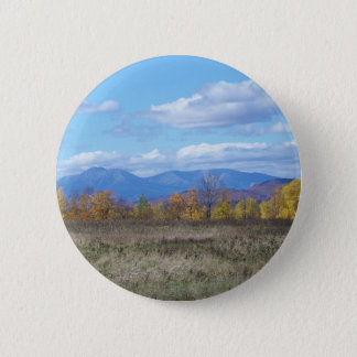 Mount Katahdin, view from Stacyville Pinback Button