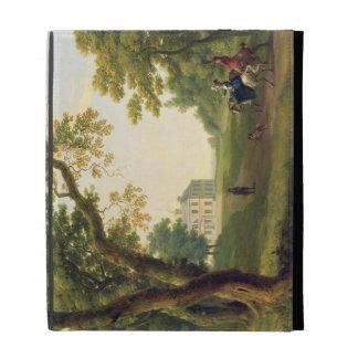 Mount Kennedy, County Wicklow, Ireland, 1785 (oil iPad Folio Cases