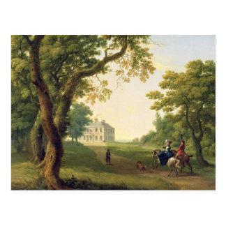 Mount Kennedy, County Wicklow, Ireland, 1785 (oil Postcard