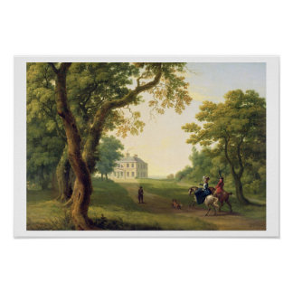 Mount Kennedy, County Wicklow, Ireland, 1785 (oil Poster