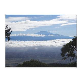 Mount Kilimanjaro Gallery Wrapped Canvas